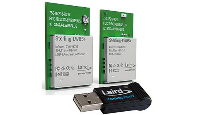 Wi-Fi-5 und Bluetooth-5-Modul als USB-Dongle