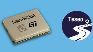Das Teseo-VIC3DA ist ein automotive-qualifiziertes GNSS-Navigationsmodul.