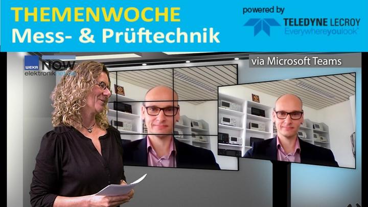 Boris Adlung, Rigol, im Video-Interview mit Markt&Technik-Redakteurin Nicole Wörner.