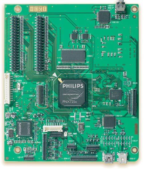 Bild 1. Mit dem DVD+RW-Referenz-Design, das auf den MPEG-2-Codierer und -Decodierer PNX725x von Philips zugeschnitten wurde, lassen sich einfach und preiswert DVD-Recorder aufbauen.