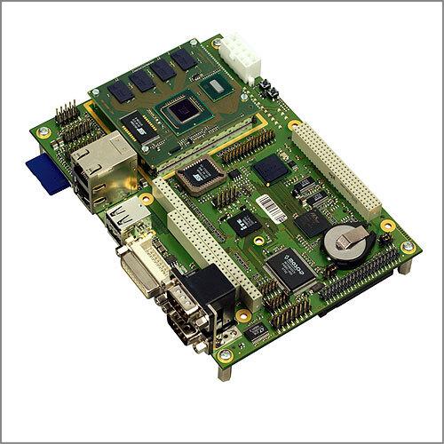 Das CoreExpress-Modul auf dem EPIC-Evaluierungs-Board (ohne Kühlkörper)