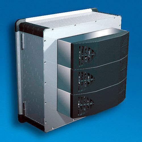 Bild 1. Die modulare Bauweise ermöglicht je nach Bedarf die einfache Skalierung der Kühlleistung sowohl horizontal als auch vertikal.