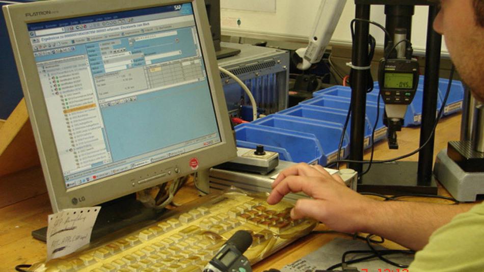Qualitätsmanagement als Kernprozess: Die bisher getrennten Systeme Produktionsplanung und QS-System wurden im ERP-System komplett abgebildet.