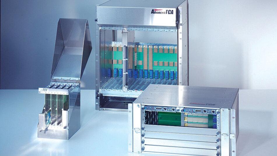 Bild 1. ATCA und MicroTCA bieten eine Vielzahl von Anwendungsmöglichkeite.