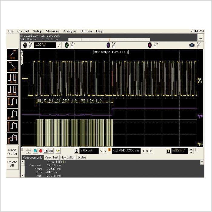 Analyse von Augendiagrammen – Wichtig ist der Taktrekonstruktions ...
