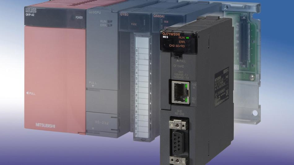 Das MES-Interface ist in die modulare Steuerungsplattform Melesc System Q integriert und ermöglicht den durchgängigen Datenfluss von der Fertigungs- bis in die Unternehmensleitebene.