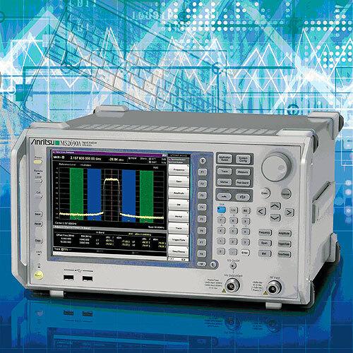 Bild 1. Trend für HF-Signalanalysatoren: Die Geräte der Serie MS269x lassen sich auch mit einer Vektorsignalgenerator-Option ausrüsten. (Foto: Anritsu)