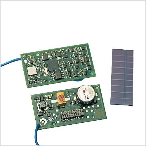 Für die Gebäudeautomatisierung gibt es bereits Sensormodule mit sehr geringem Leistungsbedarf. Durch entsprechende Anpassungsmaßnahmen lassen sich diese auch für industrielle Zwecke nutzen.
