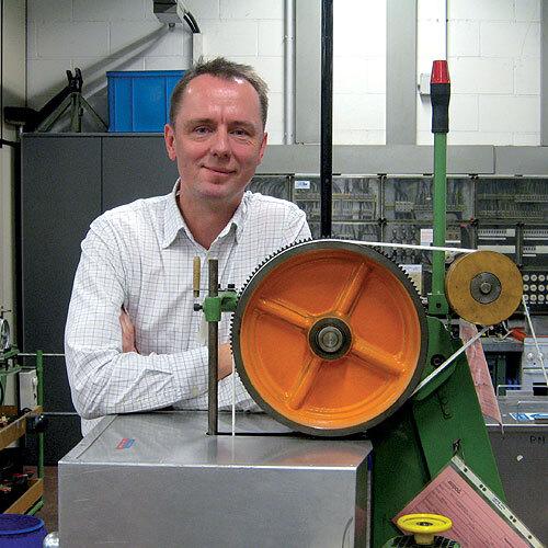 Bild: Frank Watzl, Fachkraft für Arbeitssicherheit: »Ein Arbeitsschutzmanagementsystem passt im Prinzip in einen DIN A4-Ordner.«