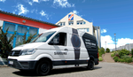 Samsungs Repair-Bus rollt jetzt auch für Firmenkunden