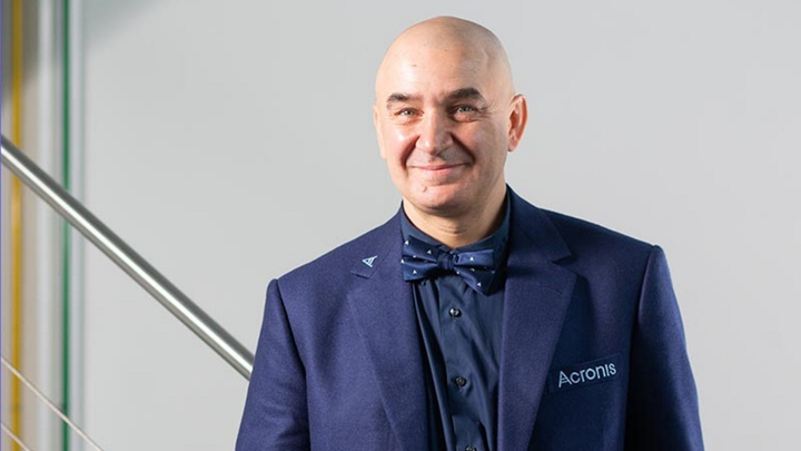 Serguei Beloussov, Gründer und CEO von Acronis,