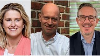 Isabella Blüml, Peter Tabke und Jürgen Weber (von links) sind die neuen Verantwortlichen für den Direktvertrieb von Xerox in Österreich, Deutschland und der Schweiz