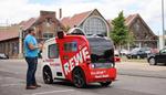 Vodafone testet autonom fahrendes Snack-Mobil