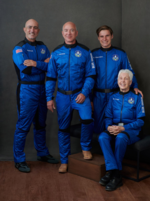 Die Crew der New Shepard