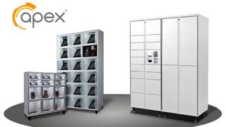 Apex ist ein Anbieter von intelligenten Schließfächern