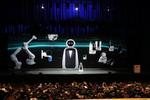 LG ließ eine ganze Roboter-Armee aufmarschieren (Bild: CES)