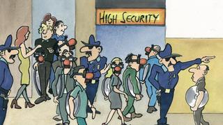 LANline-Cartoon Betrugserkennung