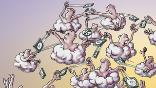 LANline-Cartoon Cloud