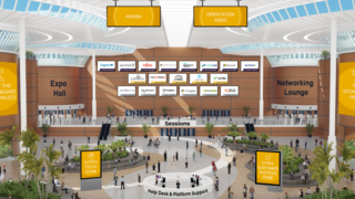 """Der Citrix EMEA Work Summit war darauf ausgelegt, eine """"echte"""" Hausmesse online zu replizieren."""