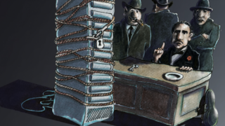 LANline-Cartoon Ransomware