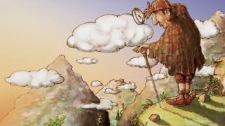 LANline-Cartoon Security in der Cloud