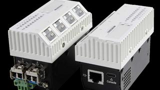 Microsens hat eine weitere Generation von Micro-Switches mit 2 x 10 GBit/s Uplink und Multi Gigabit Down-Link mit PoE++ vorgestellt.