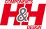 Logo der Firma H&H Components GmbH
